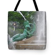 Philadelphia - Swann Memorial Fountain - Logan Square Tote Bag