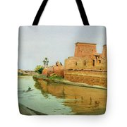 Philae On The Nile Tote Bag by Alexander West