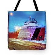 Philip R.clarke West Pier Sault Ste.marie Michigan -3124 Tote Bag