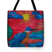 Philippine Kingfisher Painting Contest 4 Tote Bag