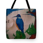Philippine Kingfisher Painting Contest 6 Tote Bag