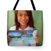 Philippine Kingfisher Painting Contest 7 Tote Bag