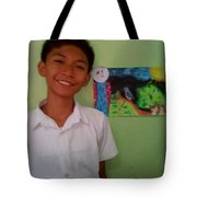 Philippine Kingfisher Painting Contest3 Tote Bag