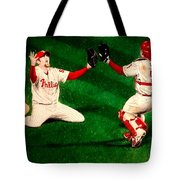 Phillies Win The World Series Tote Bag