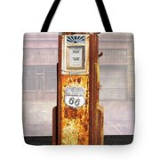 Phillips 66 Antique Gas Pump Tote Bag