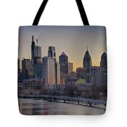 Philly Before Dawn From South Street Tote Bag
