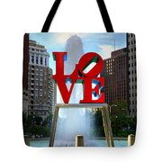 Philly Love Tote Bag by Paul Ward