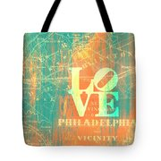 Philly Love V10 Tote Bag