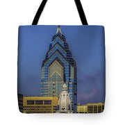 Philly Skyline-old And New Tote Bag