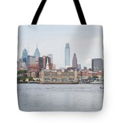 Philly Skyline Tote Bag