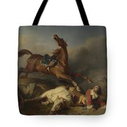 Philogene Tschaggeny   An Episode On The Field Of Battle Tote Bag