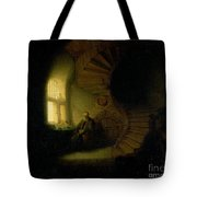 Philosopher In Meditation Tote Bag