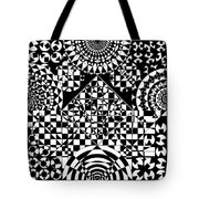 Philosophers Kaleidoscope Tote Bag