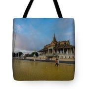 Phnom Penh Royal Palace Plaza Tote Bag