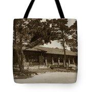 Phoebe A Hearst Social Hall Asilomar Pacific Grove Circa 1925 Tote Bag