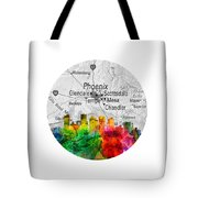 Phoenix Arizona 12rd Tote Bag