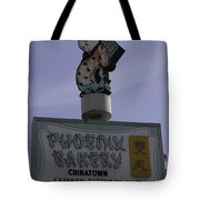 Phoenix Bakery Sign Chinatown Tote Bag