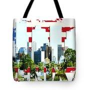 Phoenix City Skyline Tote Bag