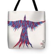 Phoenix Flying Tote Bag