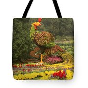 Phoenix In Summer Palace Tote Bag