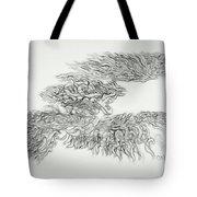 Phoenix Rising Sketch Tote Bag