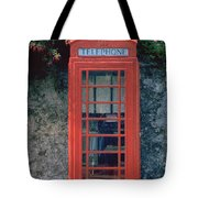 Phone Booth Tote Bag