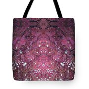 Photo 0800 Autumn Tree Leaves Fractal  E1 Mid Top  Tote Bag