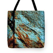 Line In The Rock Tote Bag