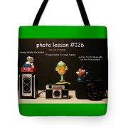 Photo Lesson  Tote Bag