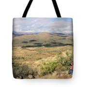 Photographer On The Scene Tote Bag