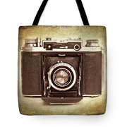 Photographer's Nostalgia Tote Bag