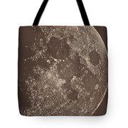 Photographie De La Lune A Son 1er Quartier Tote Bag