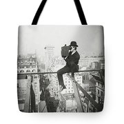Photographing Nyc Above 5th Avenue - 1905 Tote Bag