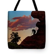 Photographing The Landscape Tote Bag