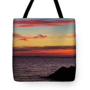 Photographing The Sunset Tote Bag