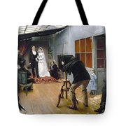 Photography Studio, C1878 Tote Bag
