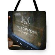 Photophone Tote Bag