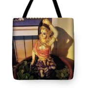 Phra Mae Thorani. Holy Mother Of Earth Tote Bag