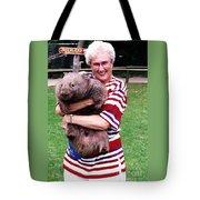 Phyllis Holding Thirty Lb Wombat Australia Tote Bag