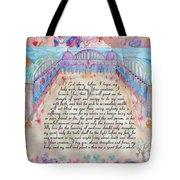 Physician Prayer- English Version Tote Bag