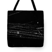 Pi-mesons, Bubble Chamber Event Tote Bag