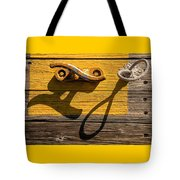 Pi Theta Shadows - Dock Cleat And Rope Tote Bag
