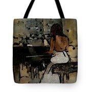 Pianist #0077 Tote Bag