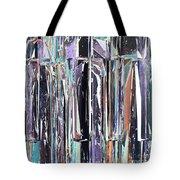 Piano Keys Abstract Tote Bag