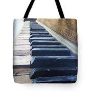 Piano Perspective Tote Bag