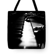 Piano Player Tote Bag by Scott Sawyer