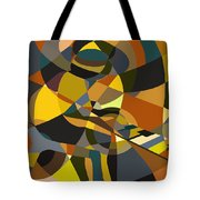 Pianoman Revisited Tote Bag