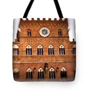 Piazza Del Campo Tuscany Italy Tote Bag