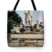 Piazza Del Popolo Fountain Tote Bag