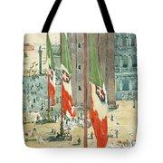 Piazza Di San Marco Tote Bag